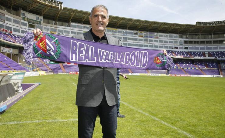 La temporada de Paco Herrera, en imágenes
