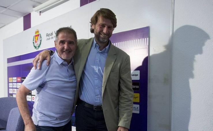 Despedida de Paco Herrera como entrenador del Real Valladolid