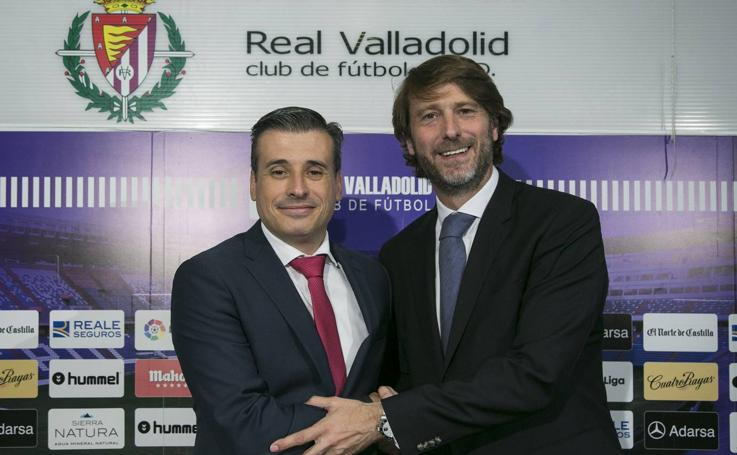 Miguel Ángel Gómez, nuevo director deportivo del Real Valladolid
