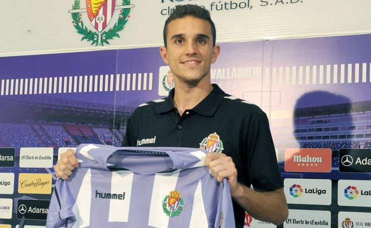 El Real Valladolid presenta a Jordi Masip