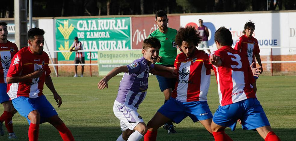 El Real Valladolid aprueba el primer test de pretemporada