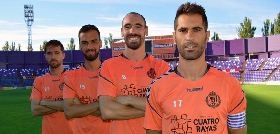 Nuevos capitanes para acompañar a Moyano en el Real Valladolid