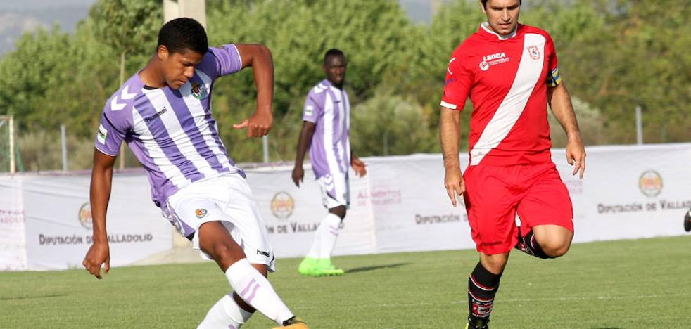 Simancas deja al Valladolid B fuera del torneo de la Diputación
