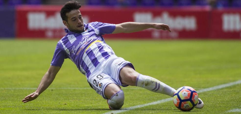 José quiere superarse en el Real Valladolid