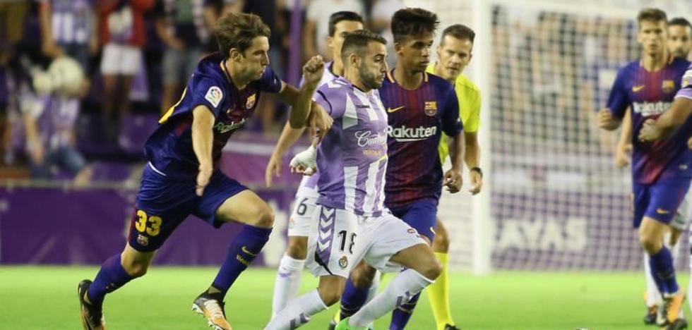 Una mala primera parte derrota al Real Valladolid