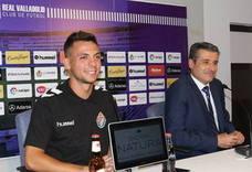 Óscar Plano considera que el Real Valladolid «dará guerra» esta temporada