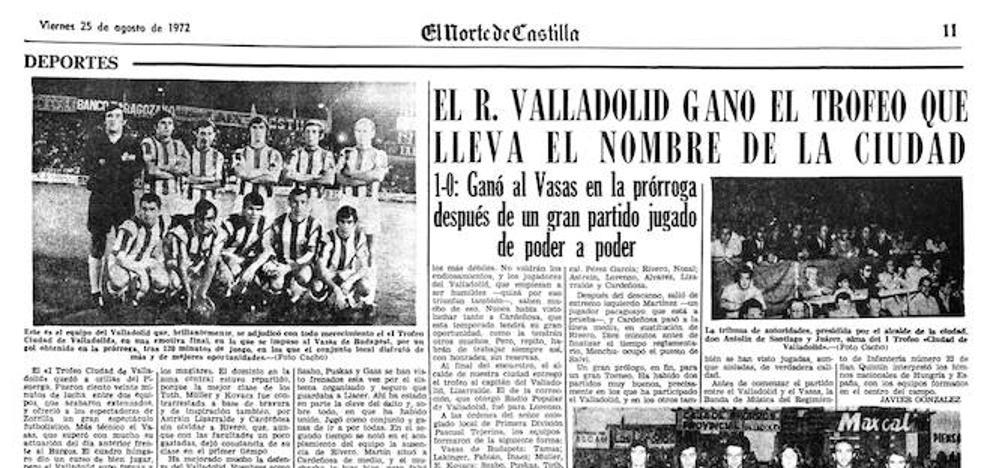 Un Trofeo Ciudad de Valladolid con historia, pero descafeinado
