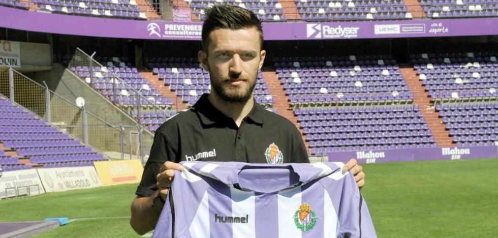 Gianniotas llega al Real Valladolid para «celebrar un ascenso»