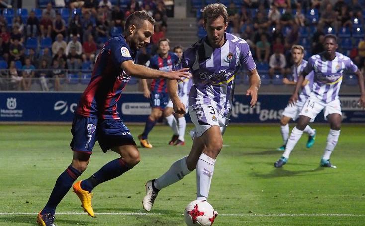 El Real Valladolid gana al Huesca en la primera ronda de la Copa (0-2)