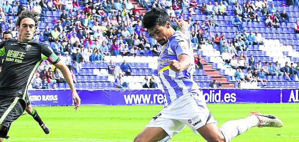Iban Salvador, camino de la redención con el Real Valladolid