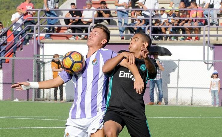 Real Valladolid juvenil 2-2 Real Madrid