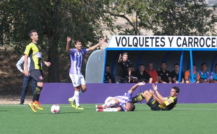 Real Valladolid B 1 - 1 Rápido de Bouzas
