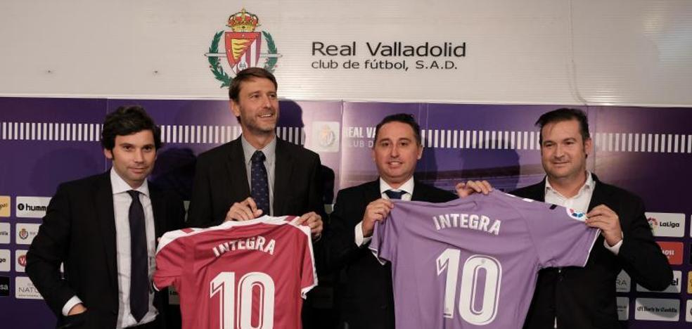 Integra se suma a los patrocinadores del Real Valladolid