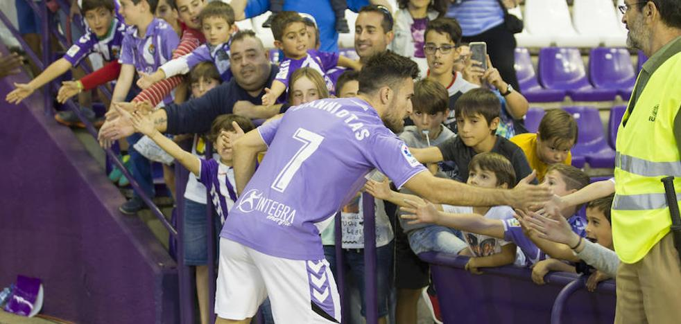 El Valladolid recupera puntería, estilo e intensidad ante el Alcorcón