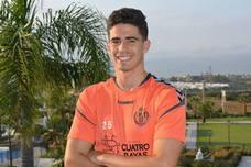 El canterano blanquivioleta Miguel de la Fuente, convocado de nuevo para entrenamientos con la sub 19