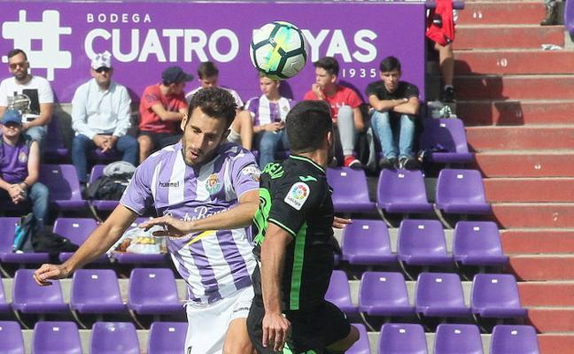 Kiko Olivas apuesta por blindar al Real Valladolid en defensa