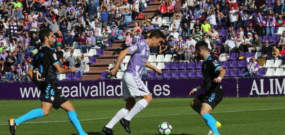 El Real Valladolid rescata un punto a base de intensidad