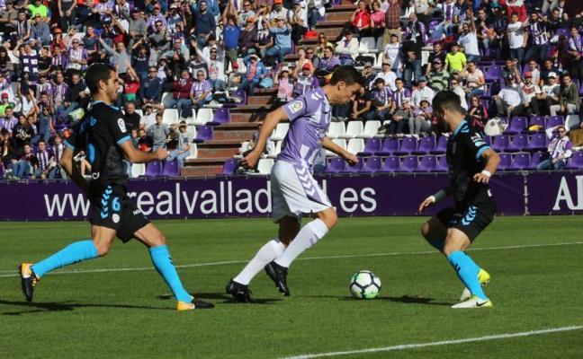 El Pucela suma un punto ante el Lugo por fe, intensidad y calidad