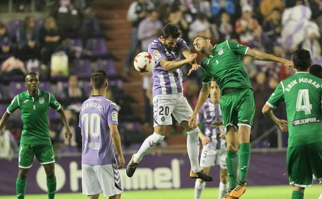 El Valladolid cae, pero da la cara ante un Primera