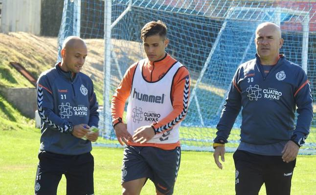Luismi, listo para volver en el Real Valladolid