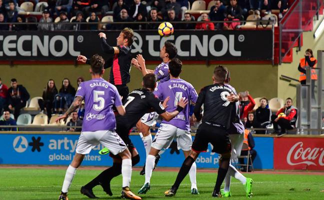 El Valladolid empata a dos frente al Reus