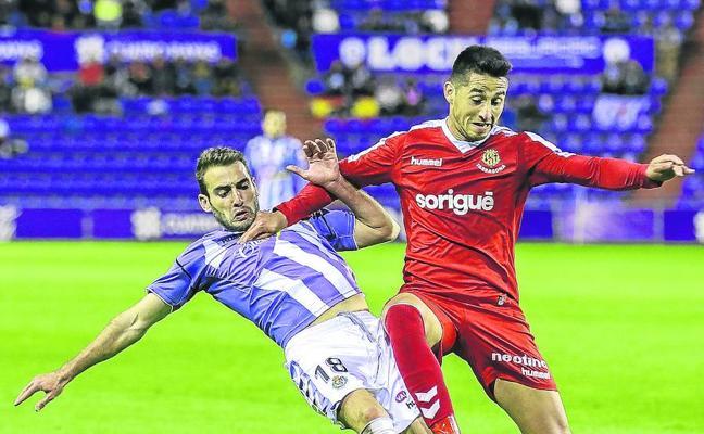 Antoñito confía en que el Real Valladolid se muestre más contundente atrás