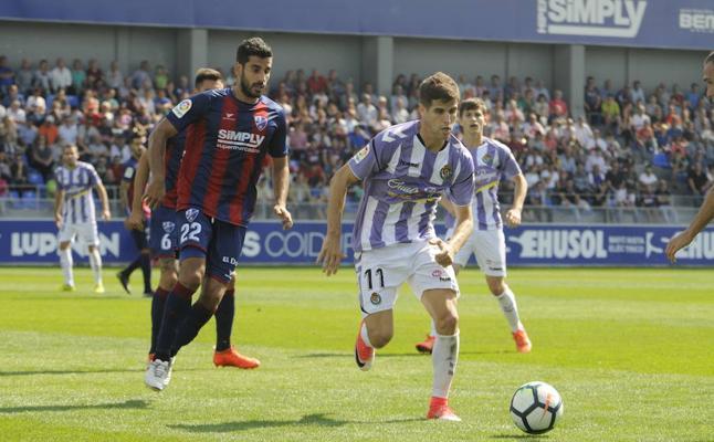 Hervías: «El Eibar me puede repescar en enero, pero yo estoy centrado en el Real Valladolid»