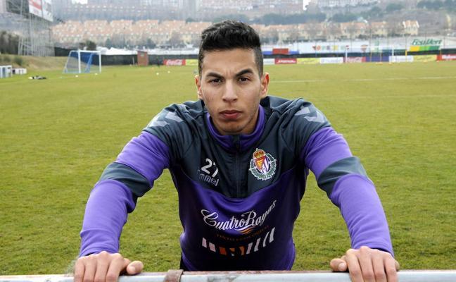 Anuar, renovado hasta 2020 con el Real Valladolid
