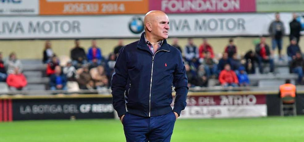 Sampedro mantendrá el sistema de 'juego alegre' ante el Oviedo
