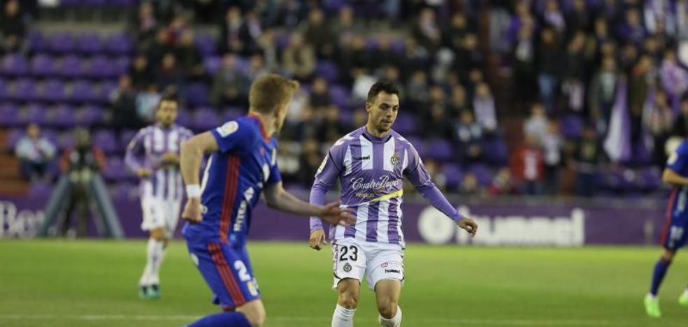 El Valladolid gana al Oviedo en un flojo partido
