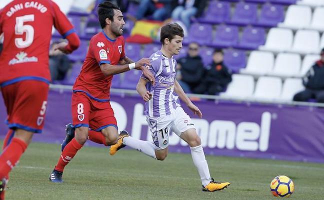 Toni amplía su contrato con el Real Valladolid hasta 2021