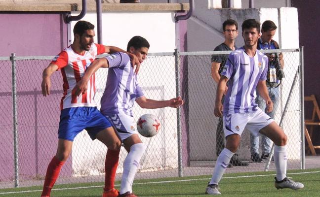 El Valladolid B cae en Madrid en 15 minutos para olvidar