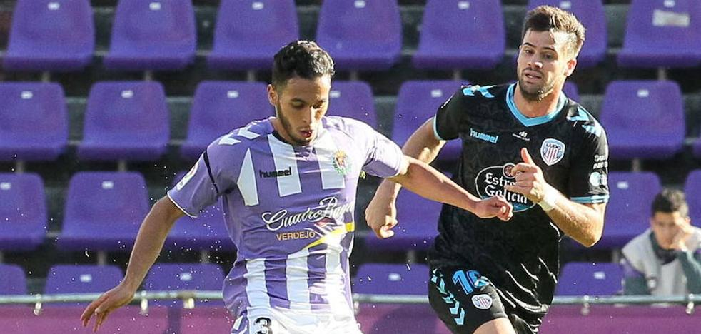Anuar apunta a titular en el Real Valladolid-Zaragoza de esta noche