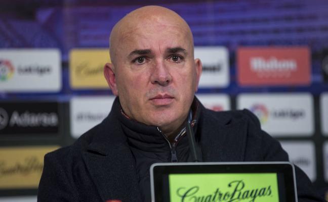 El entrenador del Real Valladolid, convencido de que el 'play off' será «más barato» en la segunda vuelta
