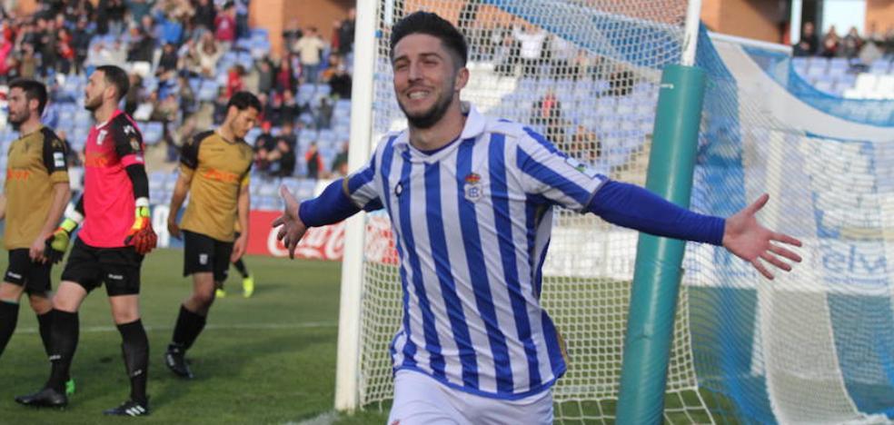 El extremo Antonio Domínguez, cerca de fichar por el Real Valladolid