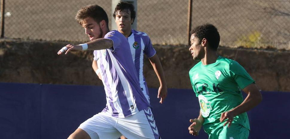 Dos errores condenan al juvenil ante el Real Madrid