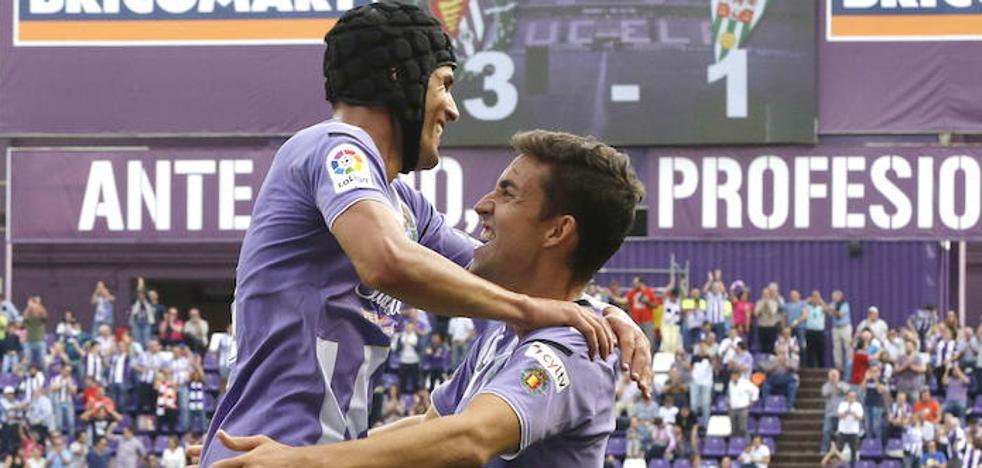 Un Real Valladolid con dos caras