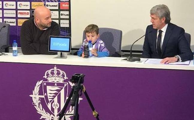 El Valladolid cita a la ciudad el miércoles para marcar un gol contra la leucemia