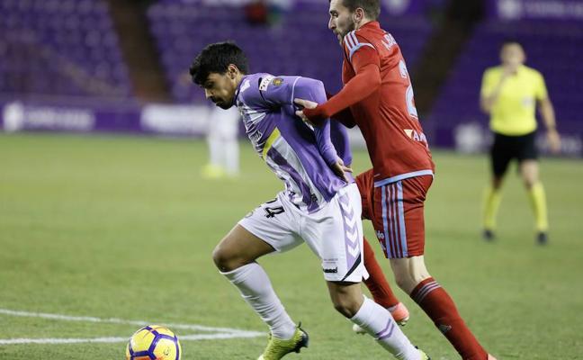 Iban Salvador, a punto de salir del Real Valladolid a la Cultural Leonesa