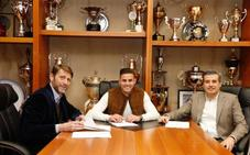 El Real Valladolid renueva a Luismi por tres años más