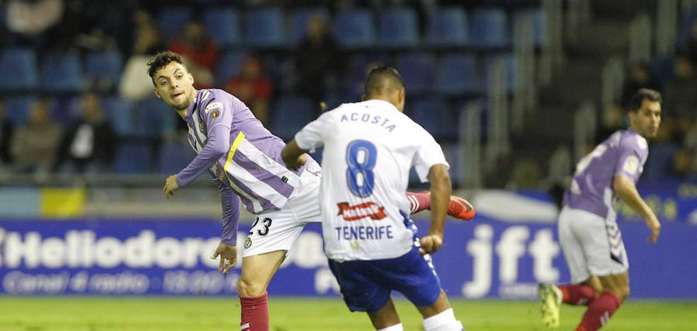 El Valladolid saca un punto de Tenerife