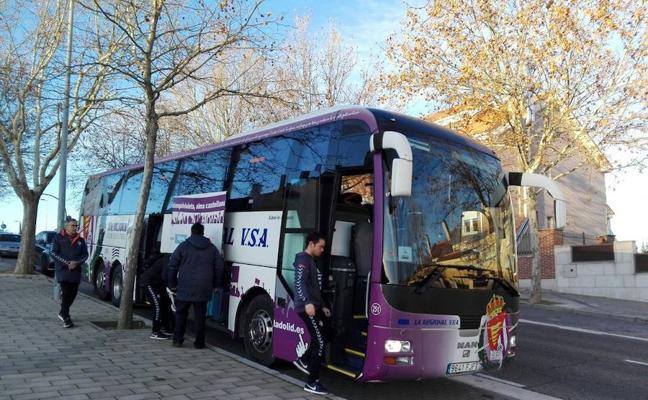 El Real Valladolid viaja ya a Granada, donde entrenará esta tarde