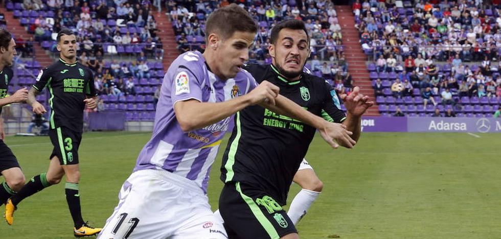 El Real Valladolid, al asalto del 'play off' en Granada