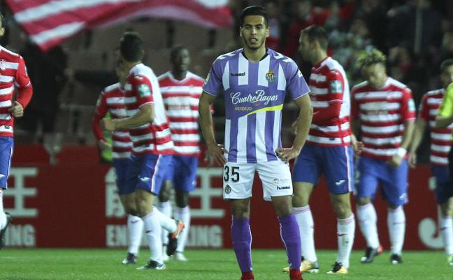 El Valladolid vuelve a las andadas en Granada