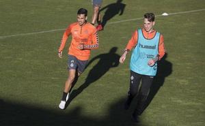 Sampedro advierte que Ontiveros «no está para 90 minutos» hoy ante el Huesca