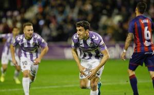El Pucela sufre para ganar a un diezmado Huesca