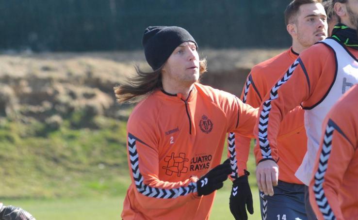 Lukas Rotpuller ya entrena con el Real Valladolid