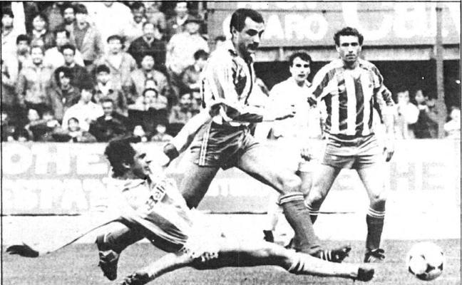 Quini y sus encuentros con el Real Valladolid