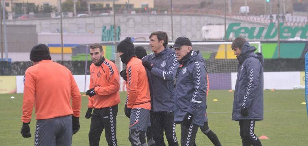 Luis César Sampedro ya es historia en el Real Valladolid