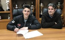 El Real Valladolid amplía el contrato del canterano Pablito hasta 2020